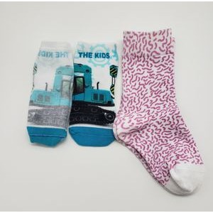 Luxury 360 Seamless DTG Full Color Bamboo Baby Socks